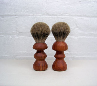 Mushroom Shaped Badger Shaving Brush