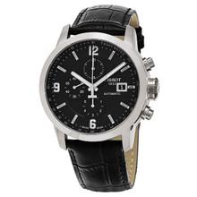 Tissot Men's T055.427.16.057.00 'PRC 200' Black Strap Chronograph Watch