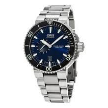 Oris Men's 743 7673 4135 MB 'Aquis' Stainless Steel Automatic Watch