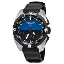 Tissot Men's T091.420.46.041.00 'T Touch Expert' Black/Blue Swiss Quartz Watch