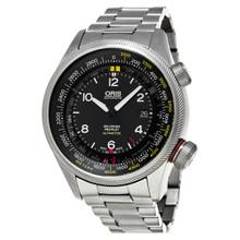 Oris Men's 733 7705 4164 MB Big Crown Black Dial Stainless Steel Automatic Watch