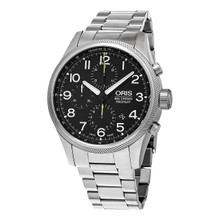 Oris Men's 774 7699 4134 MB 'Big Crown' Stainless Steel Chronograph Watch