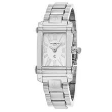 Charriol Women's CCSTRH920830 'Columbus' Silver Dial Stainless Steel Swiss Quartz Watch