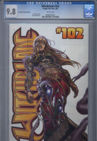 CGC 9.8 Witchblade #102 Variant Edition