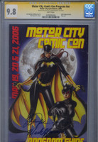 CGC 9.8 SS Motor City Con 2006 Program Double Signed
