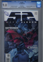 CGC 9.8 52 #11 First Kate Kane as Batwoman