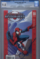 CGC 9.8 Ultimate Spider-Man #104 Red Variant Edition