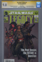 CGC 9.8 SS Star Wars: Legacy #2, 1st Delilah