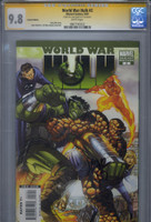CGC 9.8 SS World War Hulk #2 Romita Jr. Variant