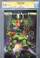 WORLD WAR HULK 1 ASPEN EXCLUSIVE MICHAEL TURNER CGC 9.8