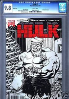 HULK #9 WRAP AROUND SKETCH VARIANT CGC 9.8 ED MCGUINESS