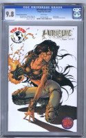 Witchblade 100 gold foil exclusive CGC 9.8 ltd 750 HTF