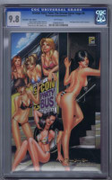 Grimm Fairy Tales: The Dream Eater Saga # 6 CGC 9.8 zenescope Mike DeBalfo art!