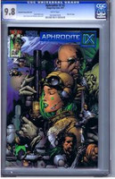 Aphrodite IX #2 Dynamic Forces Blue Foil CGC 9.8