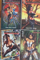 Wonderland #1 4 Cover Set