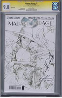 Madame Mirage #1 Sketch Cover SS CGC 9.8
