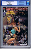 Tomb Raider / The Darkness #1 Special Edition CGC 9.8