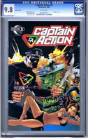 Captain Action #0 Variant Cover CGC 9.8