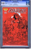 Red Sonja #8 RRP Edition CGC 9.8