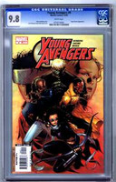 Young Avengers #9 CGC 9.8