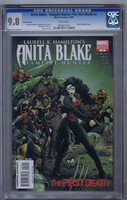 Anita Blake Vampire Hunter The First Death #2 Variant Edition CGC 9.8