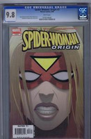 Spider Woman:Origin #3 CGC 9.8