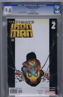 Ultimate Iron Man #2 CGC 9.8