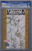 Ultimate Extinction #1 Wizard World 2006 CGC 9.9