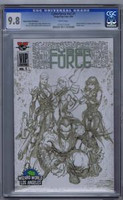 Cyberforce Xv2#1 Wizard World VIP 9.8