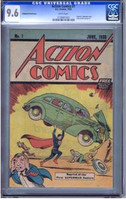 Action Comics #1 Safeguard Promotional CGC 9.6