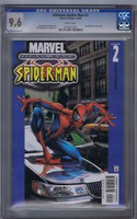 Ultimate Spiderman #2 CGC 9.6