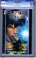 Hunter Killer #1 Wizard World 2005 CGC 9.4