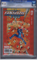 Ultimate Fantastic Four #17 CGC 9.8