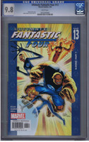 Ultimate Fantastic Four #13 CGC 9.8