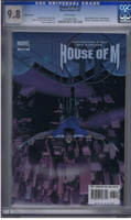 House Of M #3 CGC 9.8 Variant Cover