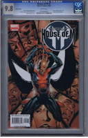 House of M #5 CGC 9.8 Variant Cover