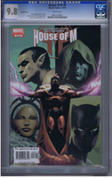 House of M #6 CGC 9.8 Variant Cover