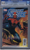 New Avengers #1 Variant Cover CGC 9.6
