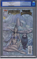 Witchblade/Tomb Raider #1 Gold Foil CGC 9.8