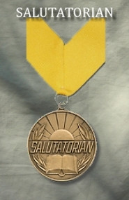 3 Inch Salutatorian Medallion