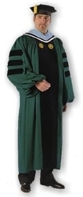 Clark University Classic Doctoral Outfit