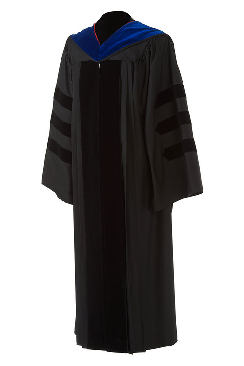 Doctoral Premium Package (Includes Hood and Cap) - University Cap & Gown