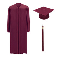 Garnet M2000 Cap, Gown & Tassel