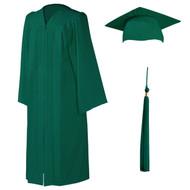 U-Emerald Cap, Gown & Tassel