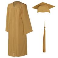 U-Old Gold Cap, Gown & Tassel
