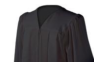 U-Charcoal Gown