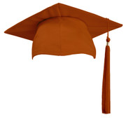 U-Orange Cap & Tassel