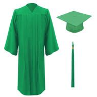 EARTH ULTRA GREEN Cap, Gown & Tassel