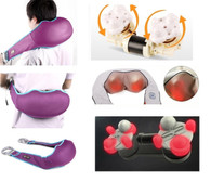 Kendal Shiatsu Kneading Back Neck Shoulder Full Body Massager with Heated Therapy N6036M