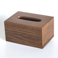 Hand Crafted Wooden Tissue Box Dispenser (Crude wood)SI-2013T